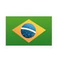 brazil blag official national banner image vector image