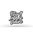 black beautiful graffiti text word expression vector image vector image