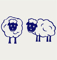 Cartoon sheep vector | Price: 1 Credit (USD $1)