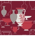 ceramic ethnic national greek style seamless vector image vector image
