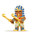 egyptian warrior fantasy action rpg game layered vector image