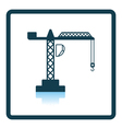 Icon of crane vector image vector image