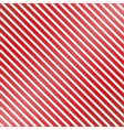 Red and White Striped Background vector image vector image
