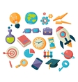Science And Studies Icons Collection vector image vector image