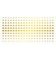 space ship gold halftone matrix vector image