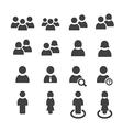 user icon vector image