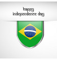 brazil independence day vector image
