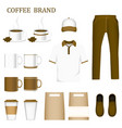 collection set corporate identity and product vector image