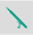 icon of fishing speargun vector image