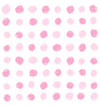pink paint dots background vector image vector image