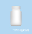 plastic bottle design vector image