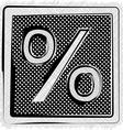 Polka Dot SYMBOL vector image vector image