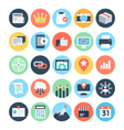 SEO and Marketing Icons 5 vector image vector image