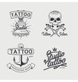 Tattoo studio logo templates vector image vector image