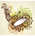 Colorful Floral vector image