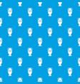 ancient jug pattern seamless blue vector image vector image