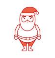 christmas happy santa claus character vector image vector image