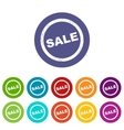 Sale flat icon vector image