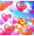 Celebratory background greeting card template vector image