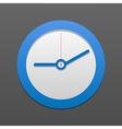 clock icon Eps10 vector image vector image