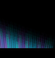 dark blue pixel bar corner abstract background vector image vector image