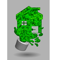 paint house vector image vector image
