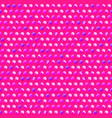 pink circle pattern vector image vector image