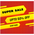 super sale up to 50 off shop now yellow red backg vector image vector image