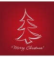 christmas-tree - hand drawn vector image