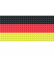German national flag colors vector image