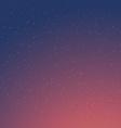Cartoon Retro Night Sky With Stars Background vector image