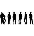 men and woman vector image
