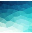 Abstract blue colorful geometric background vector image vector image