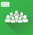 group of people icon business concept persons vector image vector image