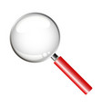 magnifying glass to search vector image