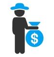Person Investor Icon vector image vector image