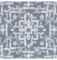 seamless pattern imitating lace vector image