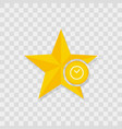 star icon clock icon vector image vector image