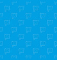 switzerland flag pattern seamless blue vector image