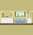 a classic living room vector image vector image