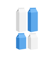 Carton of milk vector image vector image