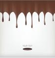 Chocolate streams vector image