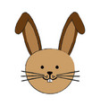 cute rabbit or bunny icon image vector image vector image