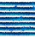 dark blue grunge paint stripes seamless pattern vector image vector image