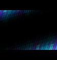 dark blue pixel bar border abstract background vector image vector image