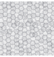 grey swirl circle background vector image vector image