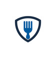 guard food logo icon design vector image