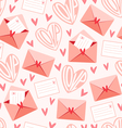 Love letters pattern vector | Price: 1 Credit (USD $1)