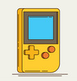 old gadget flat icon vector image