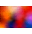 Pixel colorful background vector image